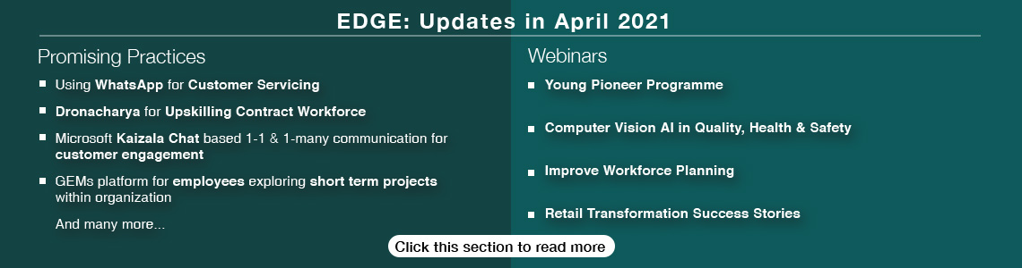 Edge newsletter April
