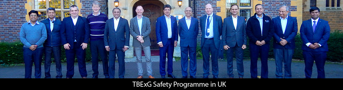 Six MDs of Tata Companies attend first-of-its-kind TBExG Safety Programme